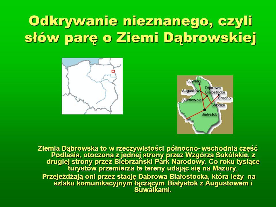 Odkrywanie nieznanego, czyli słów parę o Ziemi Dąbrowskiej