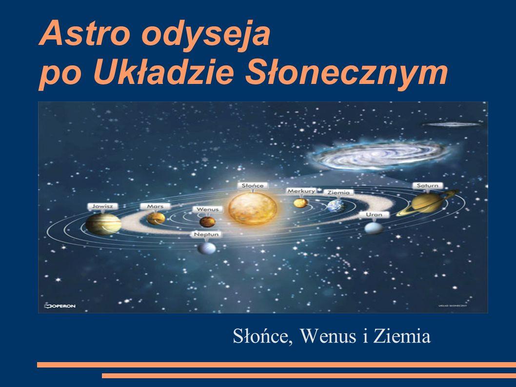 Astro odyseja po Układzie Słonecznym