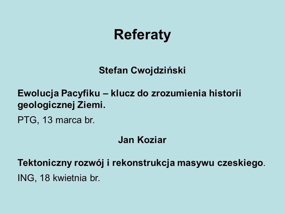 Referaty Stefan Cwojdziński