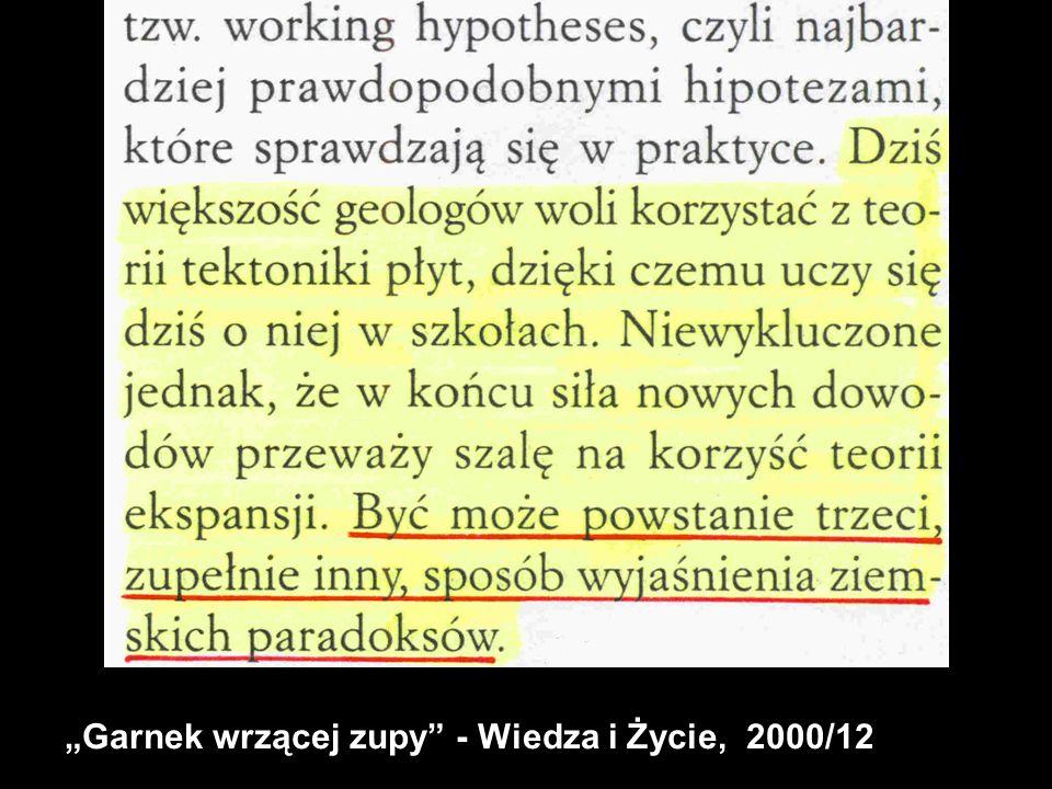"""""""Garnek wrzącej zupy - Wiedza i Życie, 2000/12"""