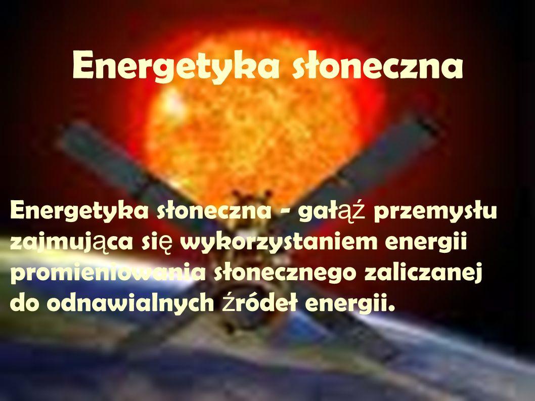 Energetyka słoneczna