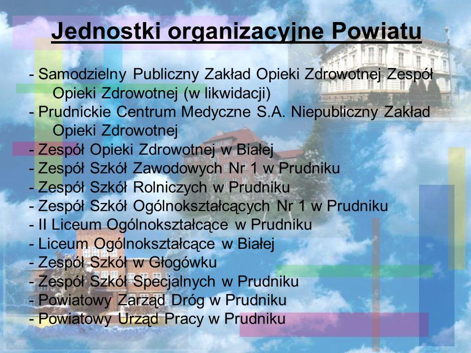Jednostki organizacyjne Powiatu