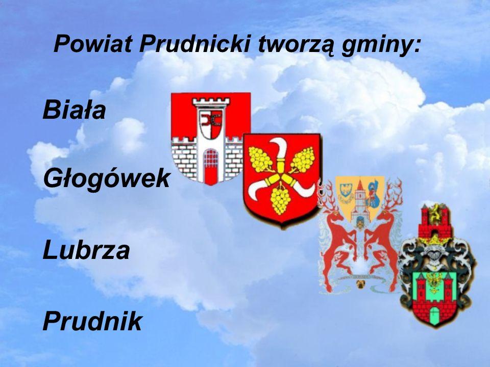 Powiat Prudnicki tworzą gminy: