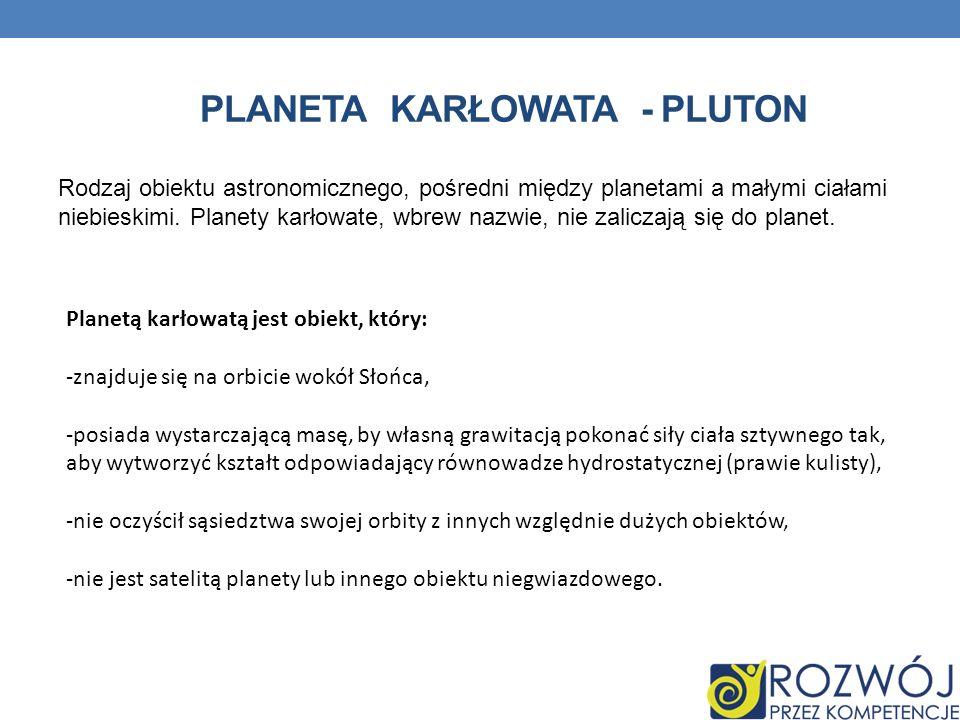 Planeta karłowata - Pluton