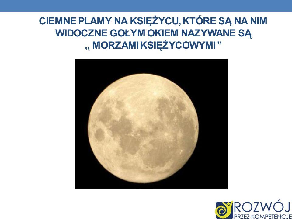 ,, morzami księżycowymi
