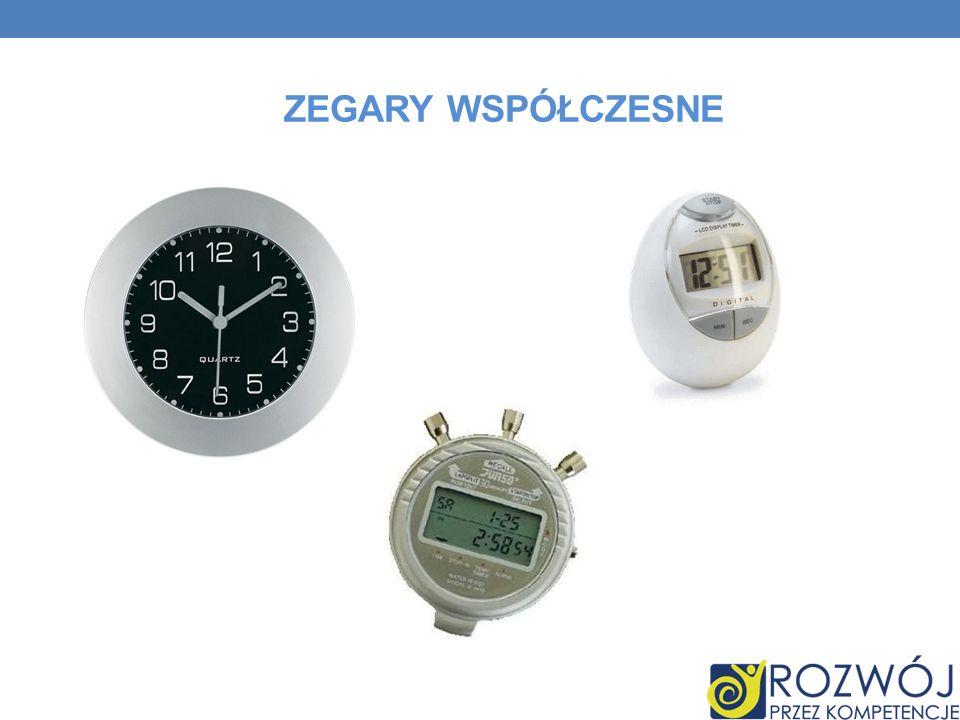 Zegary współczesne