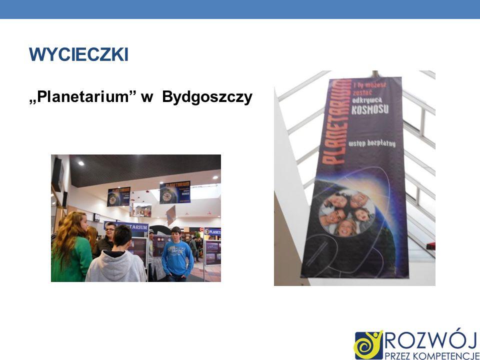 """Wycieczki """"Planetarium w Bydgoszczy"""