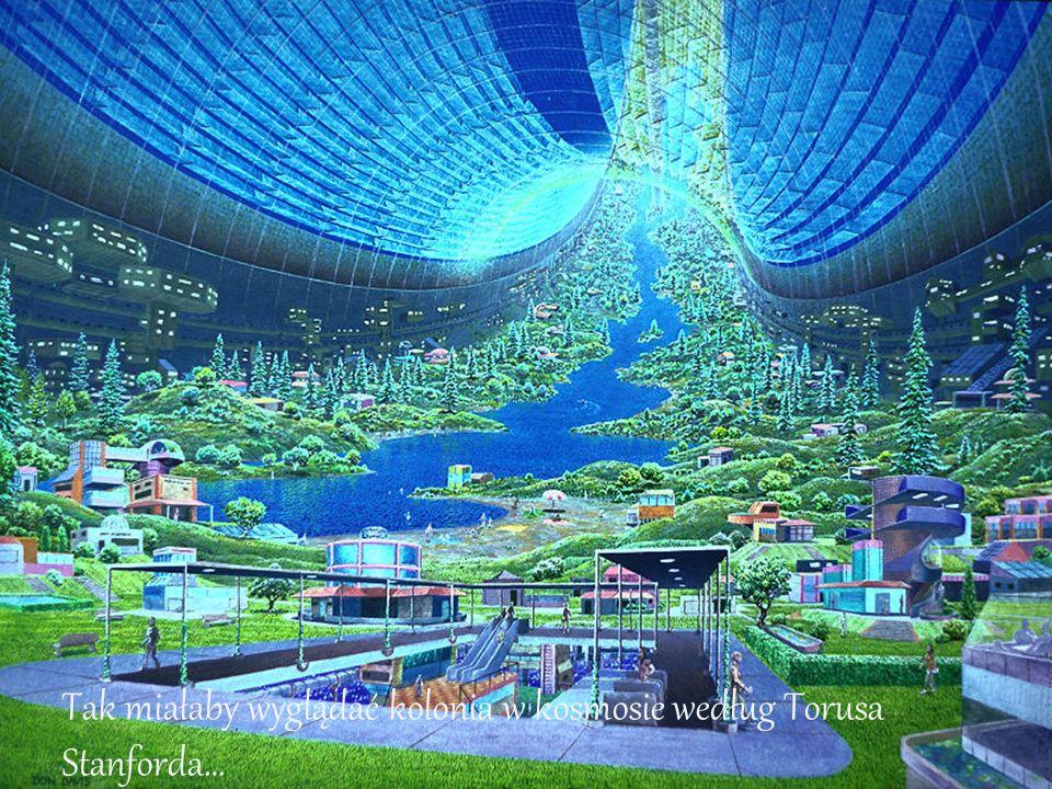 Tak miałaby wyglądać kolonia w kosmosie według Torusa Stanforda…