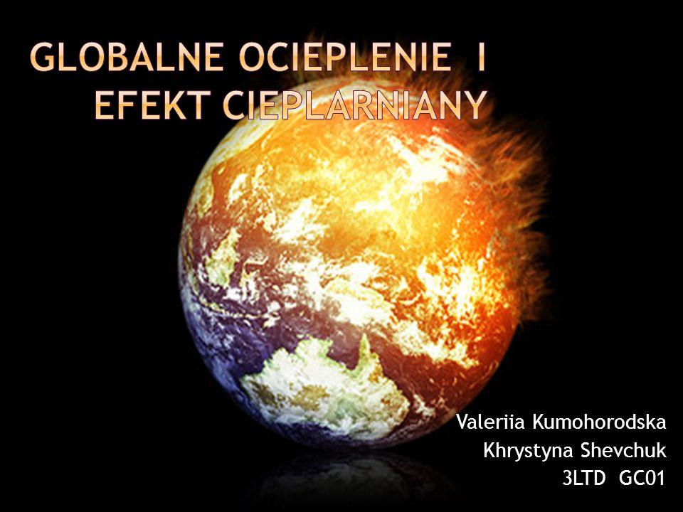 Globalne ocieplenie I efekt cieplarniany
