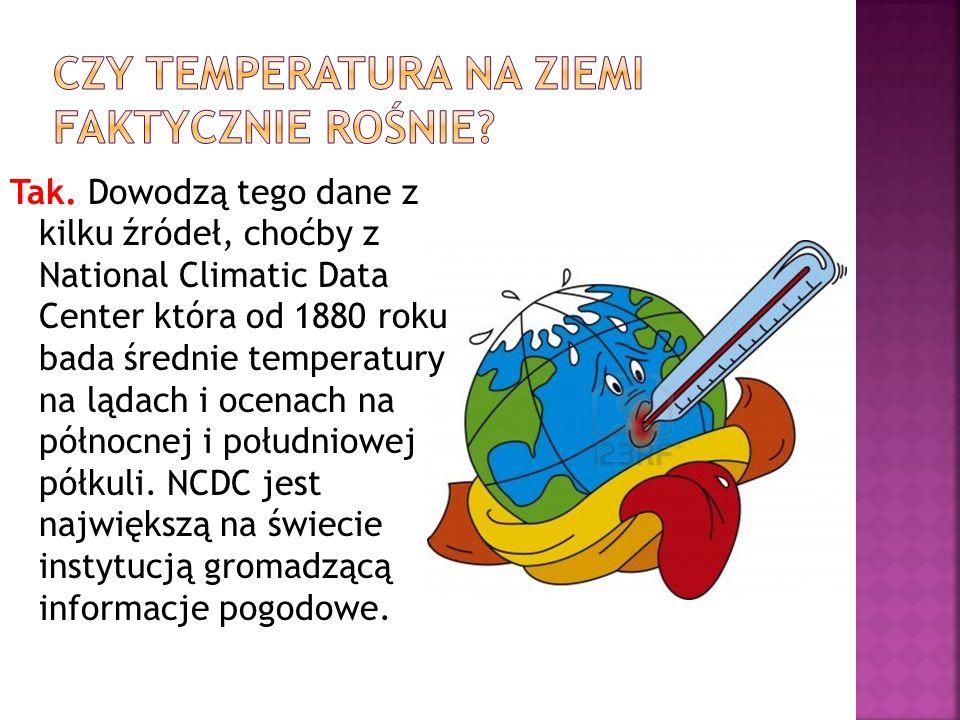 Czy temperatura na Ziemi faktycznie rośnie