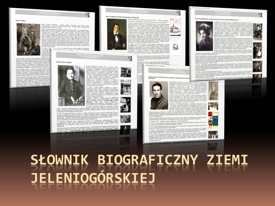 Słownik Biograficzny Ziemi Jeleniogórskiej