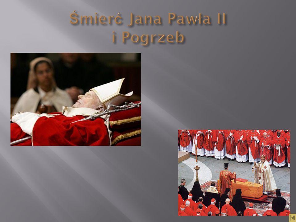 Śmierć Jana Pawła II i Pogrzeb