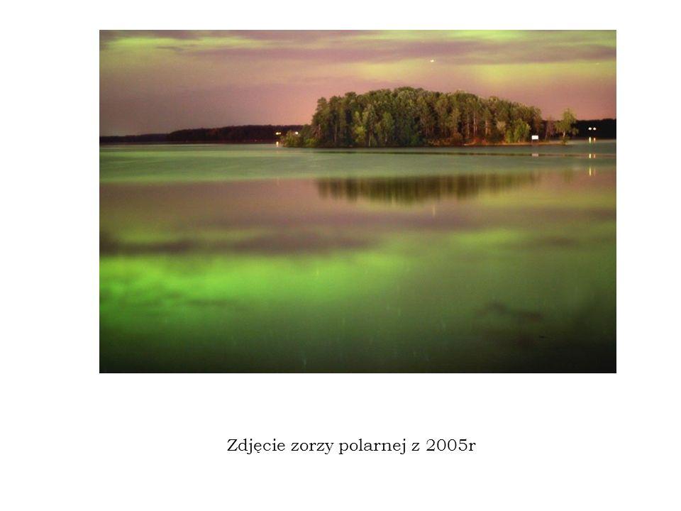 Zdjęcie zorzy polarnej z 2005r