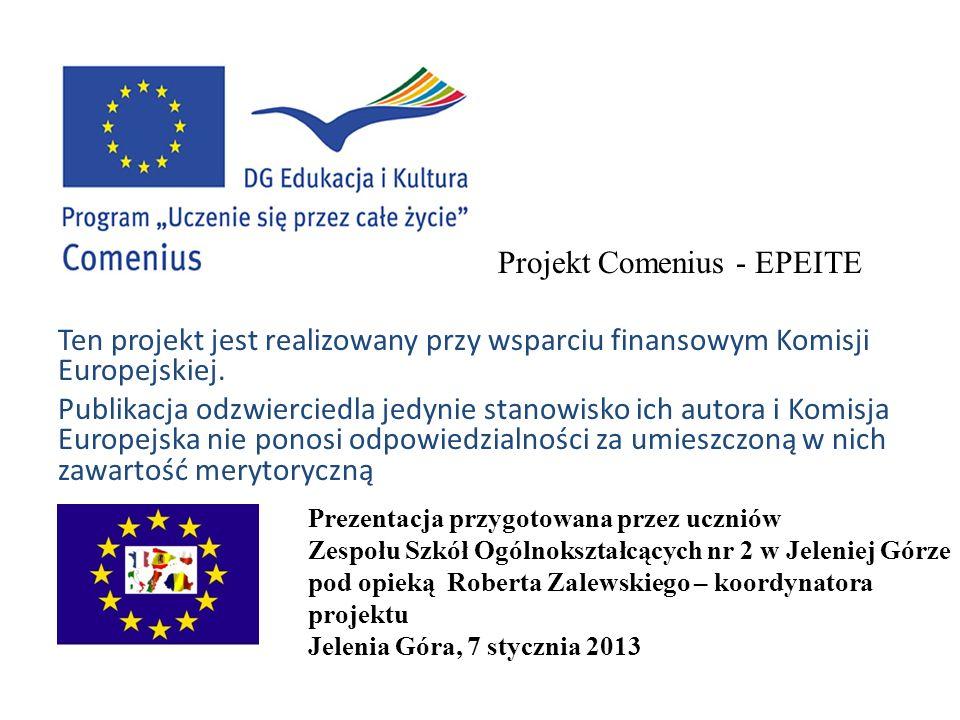 Projekt Comenius - EPEITE