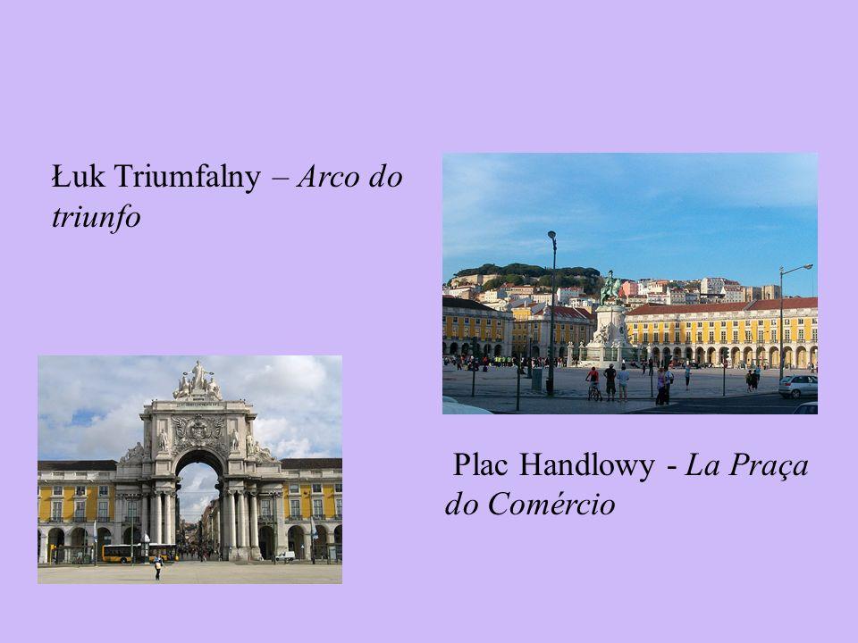 Łuk Triumfalny – Arco do triunfo