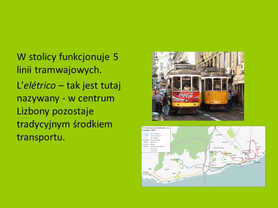 W stolicy funkcjonuje 5 linii tramwajowych