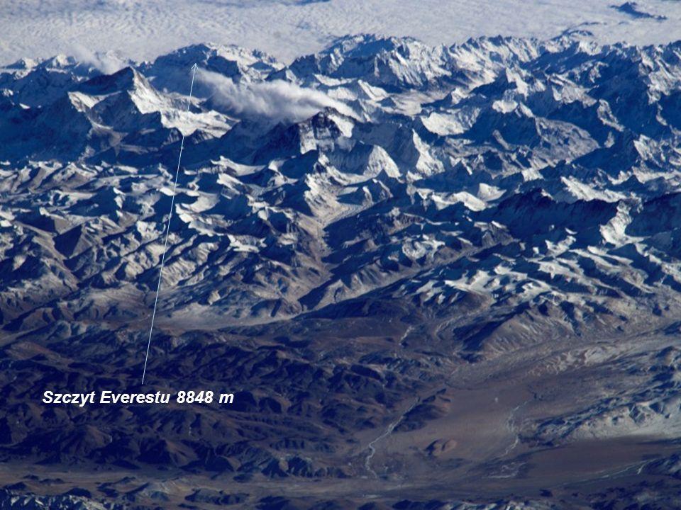 Szczyt Everestu 8848 m