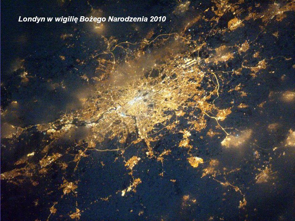 Londyn w wigilię Bożego Narodzenia 2010
