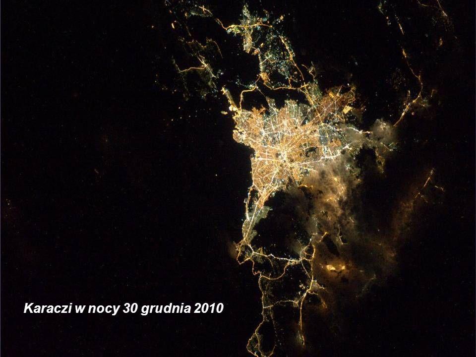 Karaczi w nocy 30 grudnia 2010