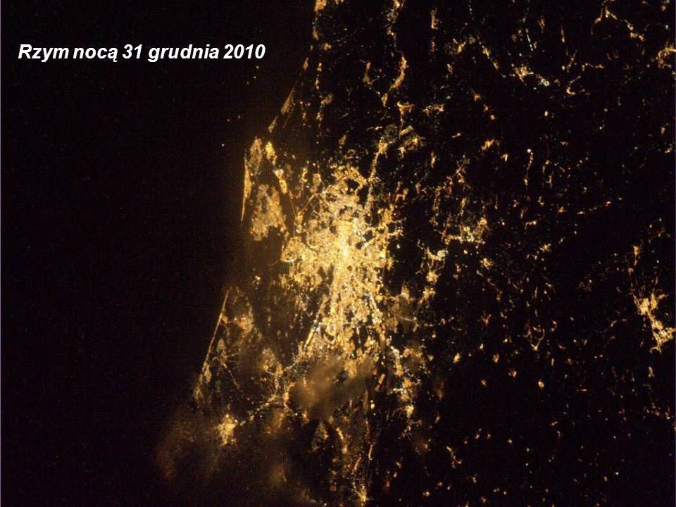 Rzym nocą 31 grudnia 2010