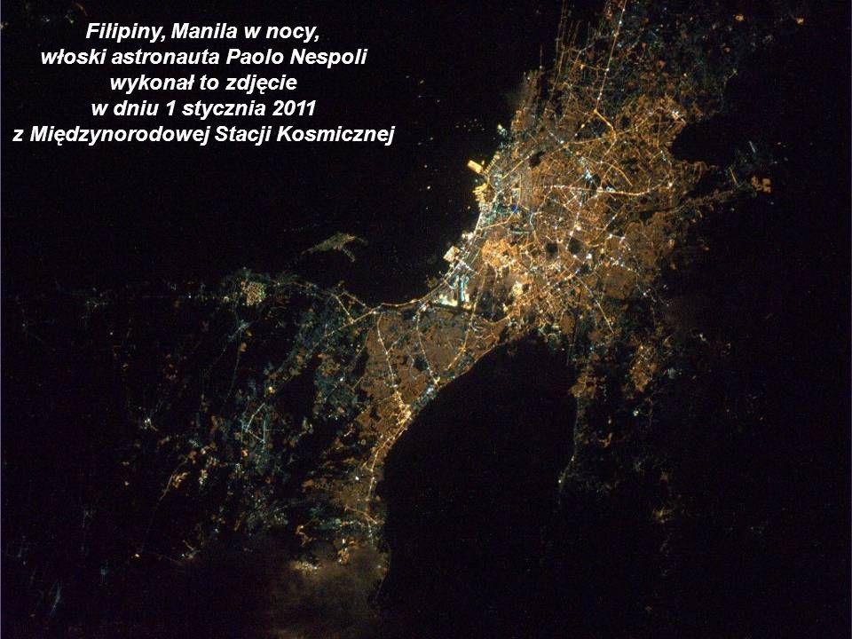 włoski astronauta Paolo Nespoli wykonał to zdjęcie