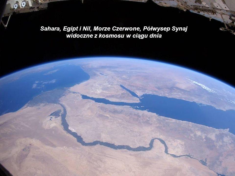 Sahara, Egipt i Nil, Morze Czerwone, Półwysep Synaj