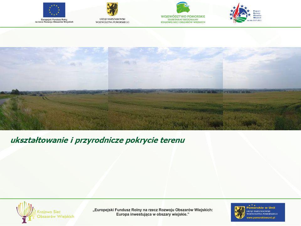 ukształtowanie i przyrodnicze pokrycie terenu