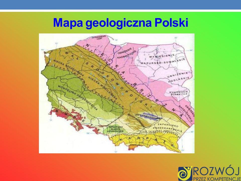 Mapa geologiczna Polski