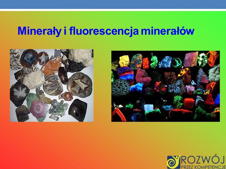 Minerały i fluorescencja minerałów