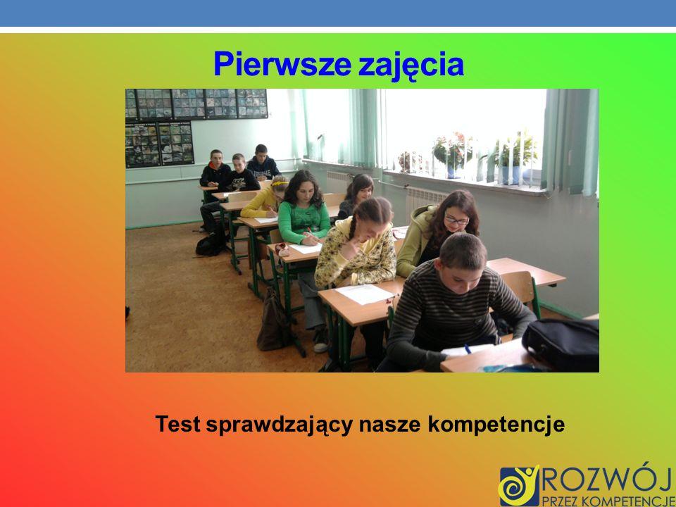 Test sprawdzający nasze kompetencje