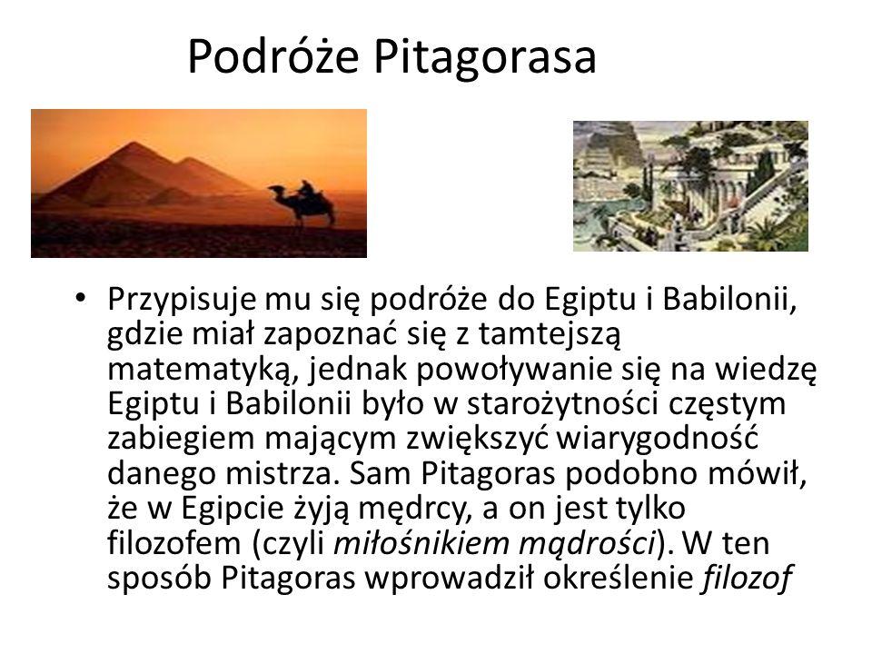 Podróże Pitagorasa
