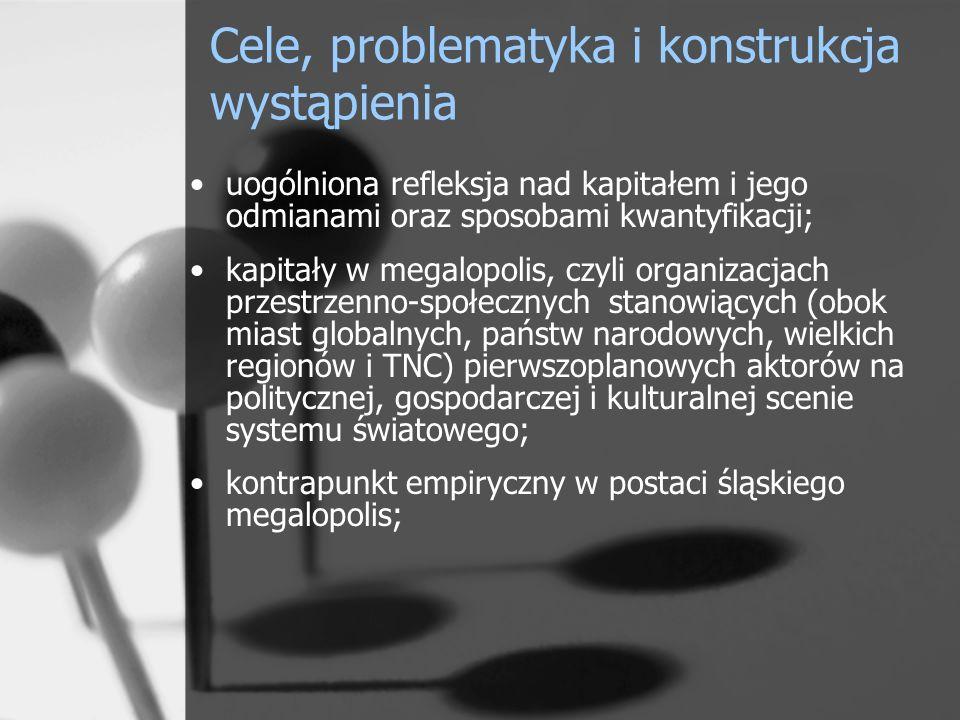 Cele, problematyka i konstrukcja wystąpienia