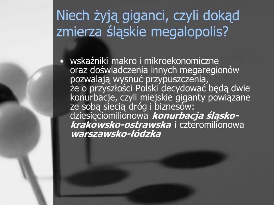 Niech żyją giganci, czyli dokąd zmierza śląskie megalopolis