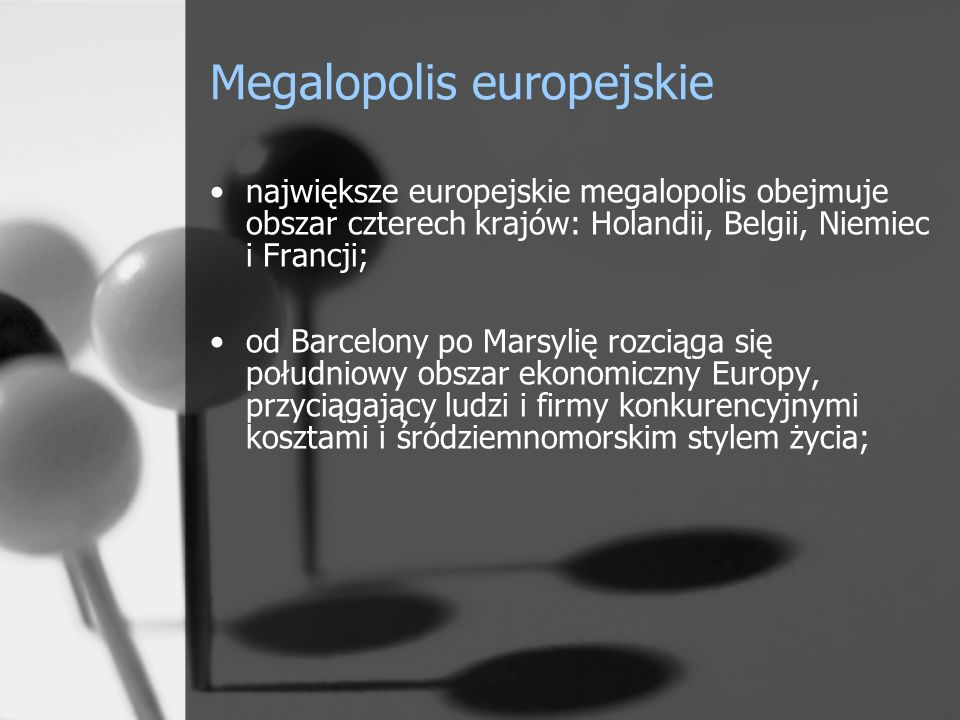Megalopolis europejskie