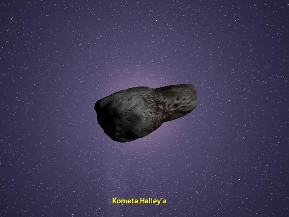 Kometa Halley a