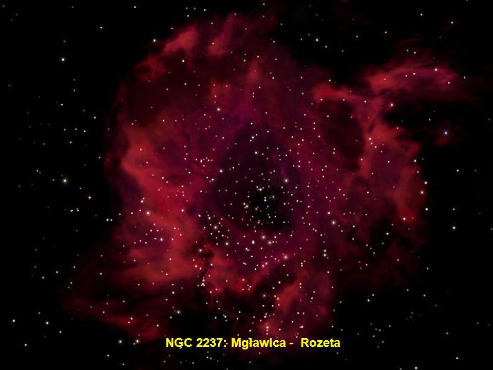 NGC 2237: Mgławica - Rozeta
