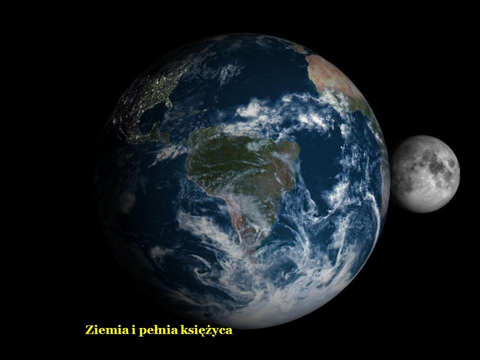 Ziemia i pełnia księżyca