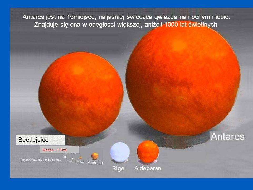 Znajduje się ona w odegłości większej, aniżeli 1000 lat świetlnych.