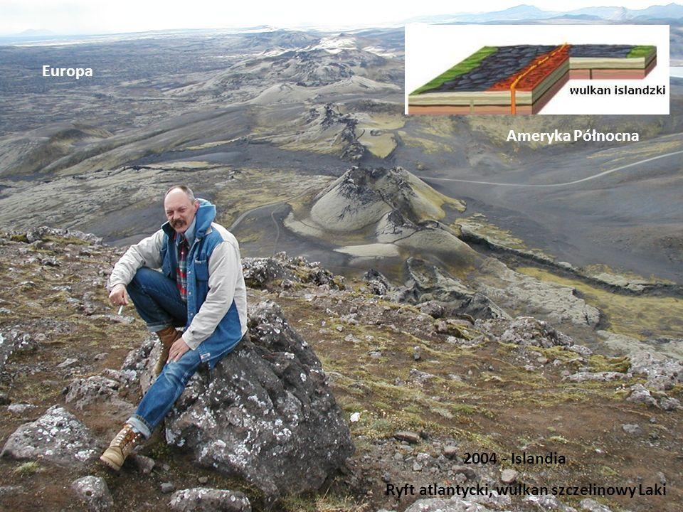 Ryft atlantycki, wulkan szczelinowy Laki