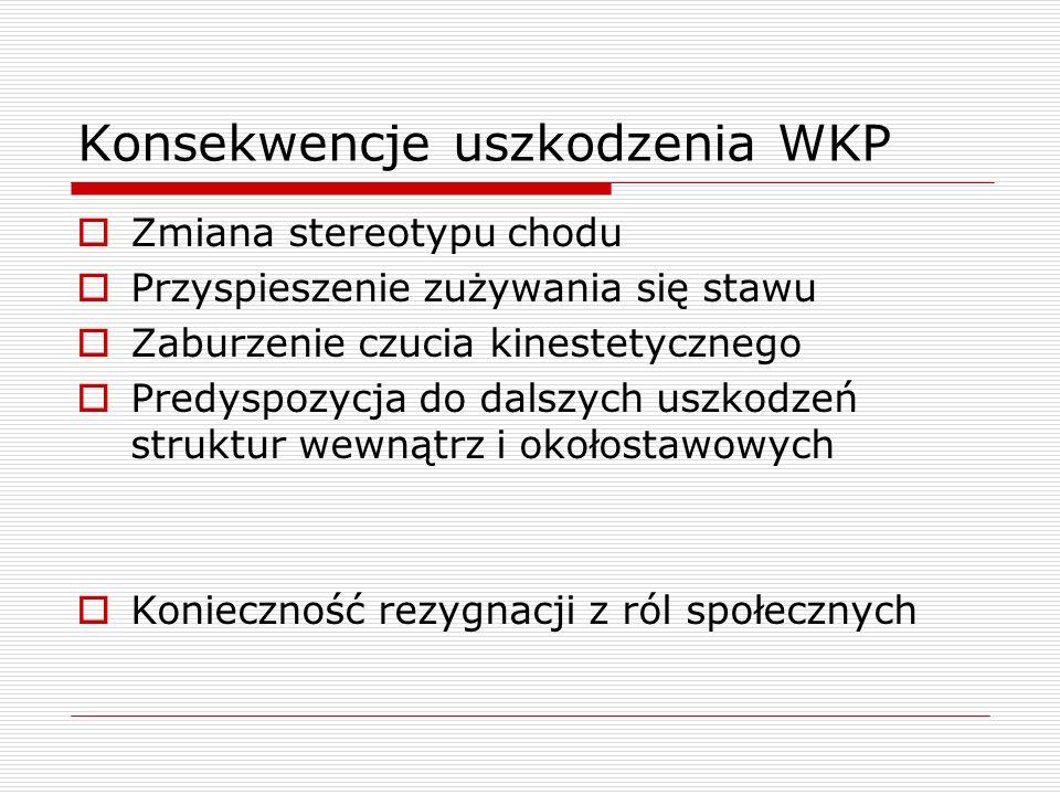 Konsekwencje uszkodzenia WKP