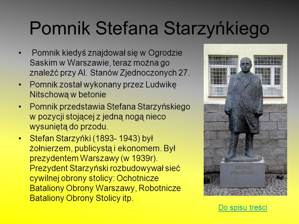 Pomnik Stefana Starzyńkiego