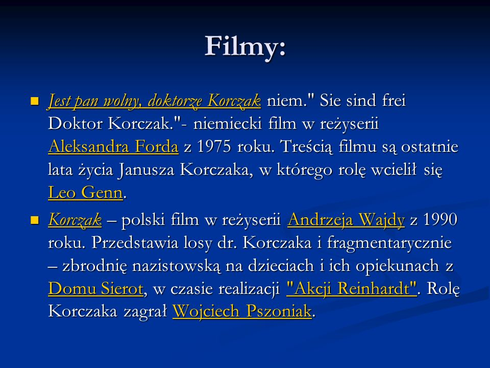 Filmy: