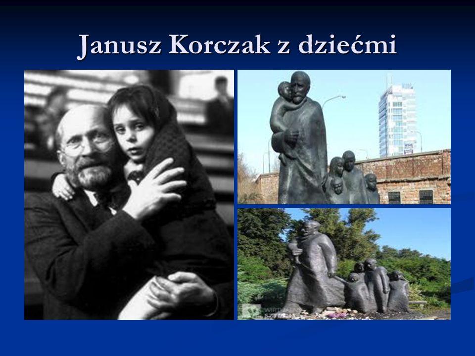Janusz Korczak z dziećmi