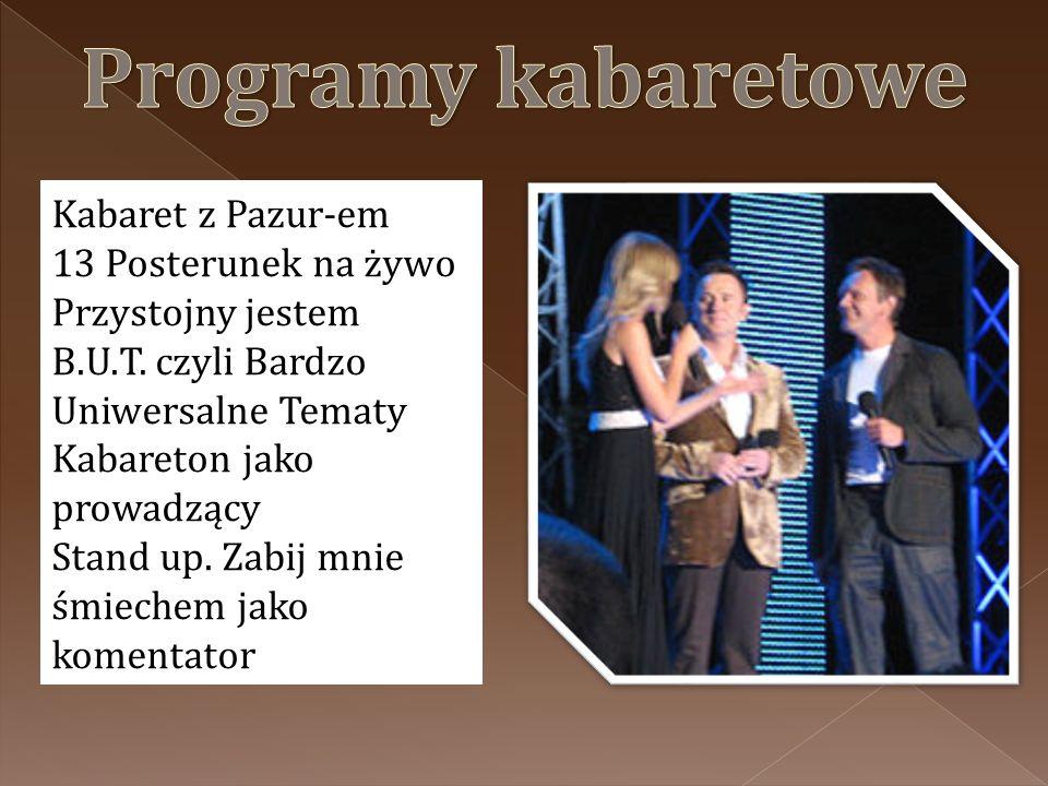 Programy kabaretowe Kabaret z Pazur-em 13 Posterunek na żywo