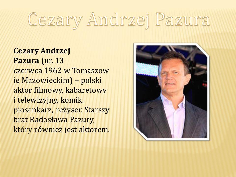 Cezary Andrzej Pazura