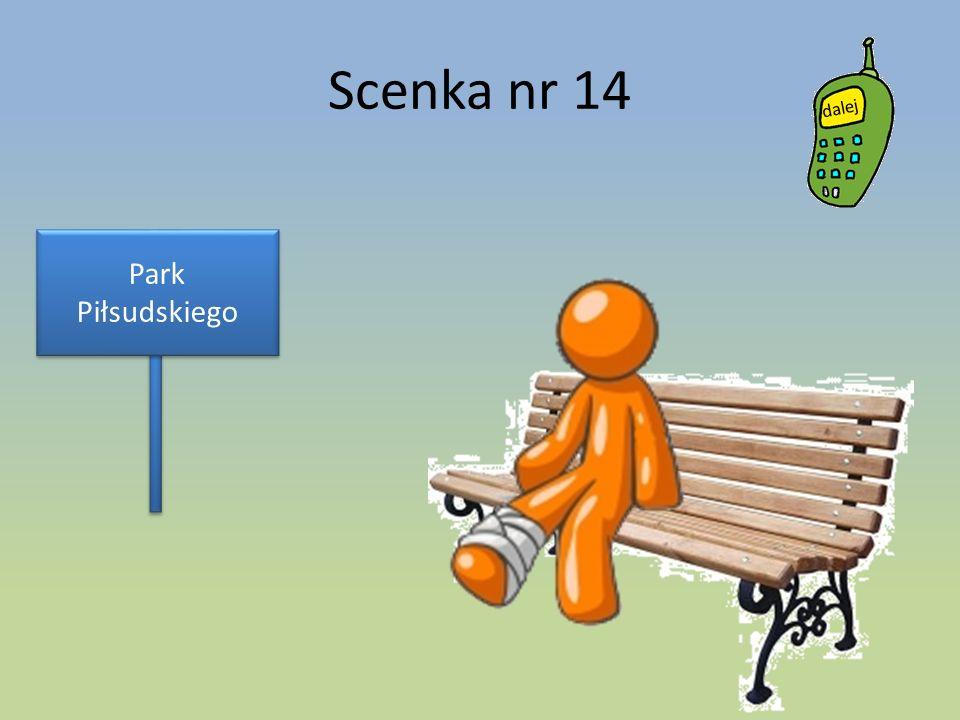 Scenka nr 14 Park Piłsudskiego
