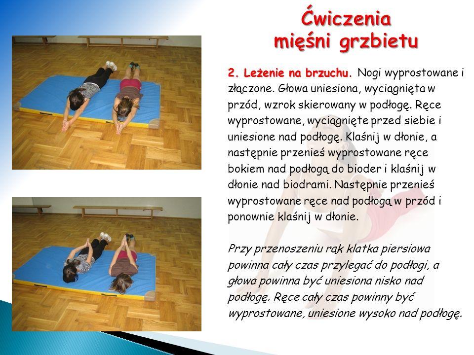 Ćwiczenia mięśni grzbietu
