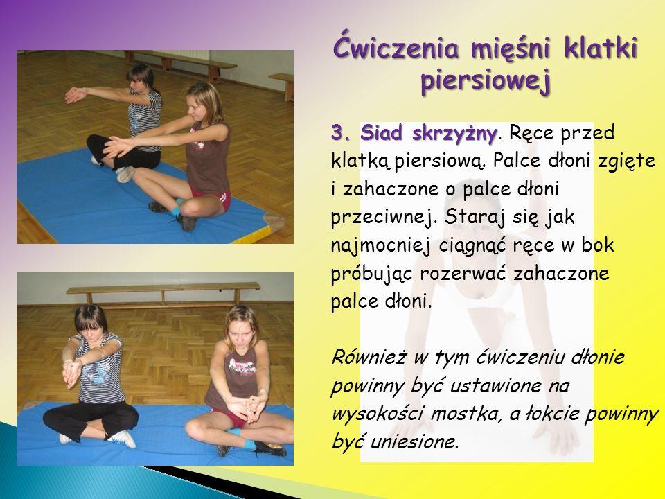 Ćwiczenia mięśni klatki piersiowej