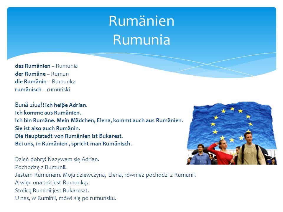 Rumänien Rumunia