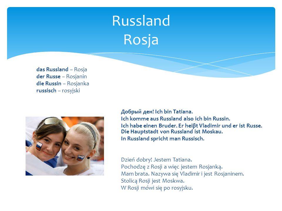 Russland Rosja